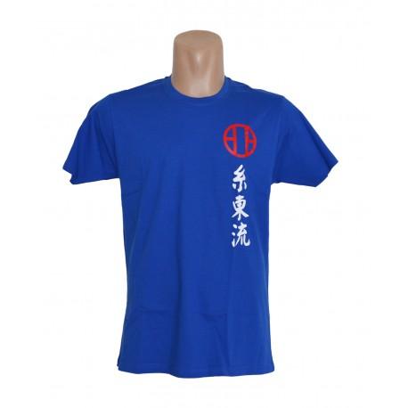Camiseta azul Shitoryu
