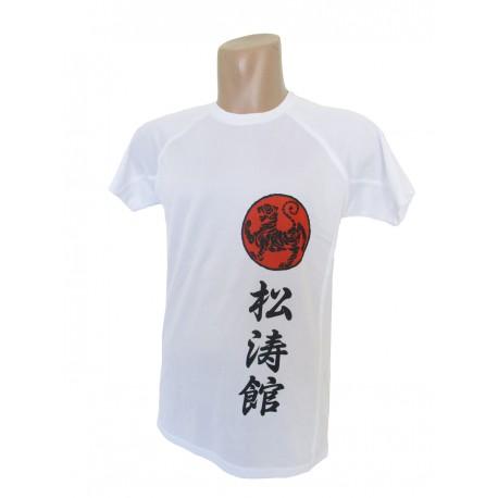 Camiseta técnica Shotokan