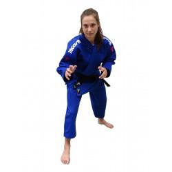 Judogi Lady Grand Master azul, corte de mujer (entallado).