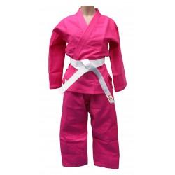 kimono judo rosa