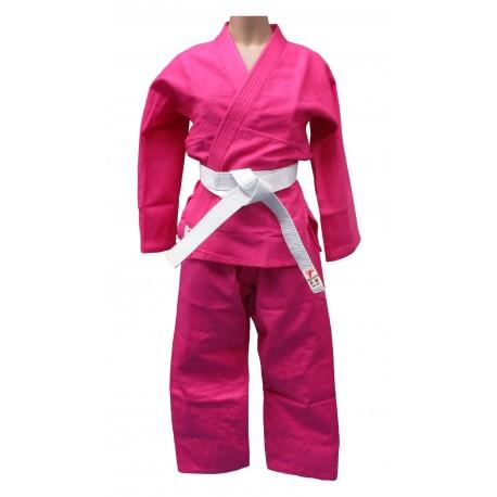 Judogi rosa infantil y adulto.