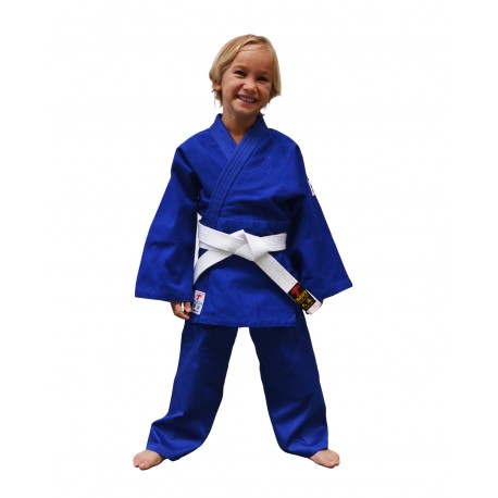 Nuevo judogi azul infantil.