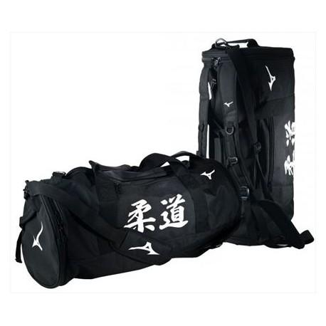 Bolsa-mochila de deporte Mizuno.