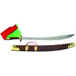 Sable wushu con vaina de madera, 96cm.