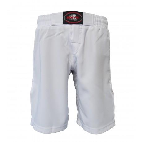 Pantalón para MMA, color blanco.