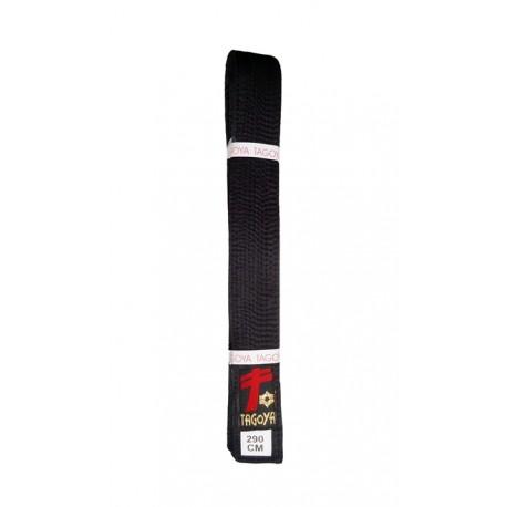 Cinturon negro de satén, calidad especial.