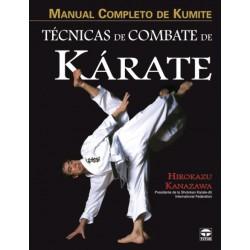 Libro Técnicas de combate de kárate.
