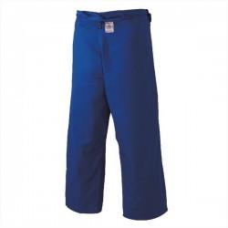 Pantalón judo Mizuno Yusho Best azul homologado IJF