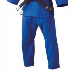 Pantalon Yusho judo competición Mizuno azul
