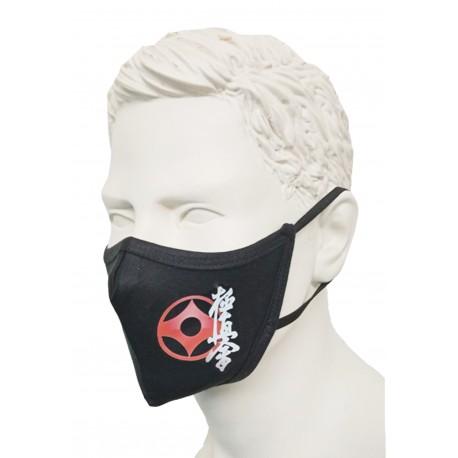 Mascarilla negra Kyokushin