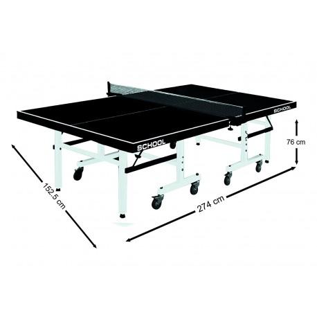 Mesa ping pong plegable School Line.