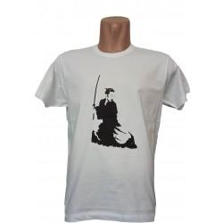 Camiseta blanca Samurai Iaido