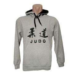 Sudadera Judo Gris