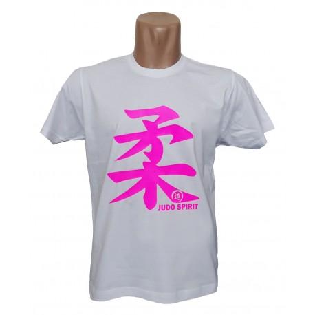 Camiseta Judo Spirit blanca