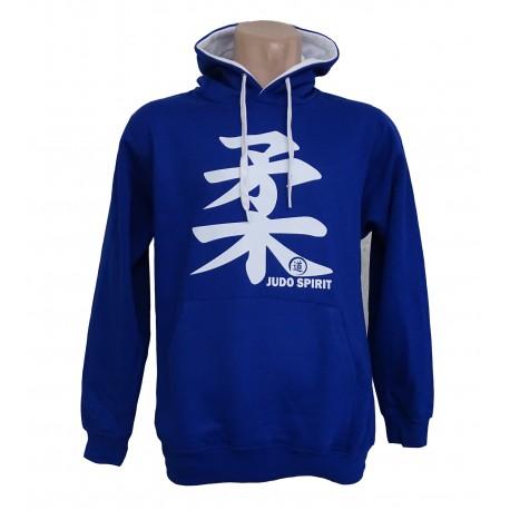 Sudadera Judo Spirit azul