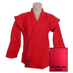 Kurka sambo de tejido muy resistente rojo (algodón 100%).