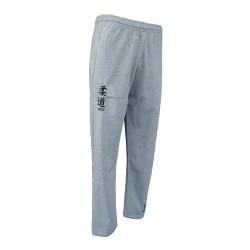 Pantalón felpa Judo gris