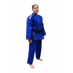 Judogi competición Supreme Grand Master azul con bordado directo.