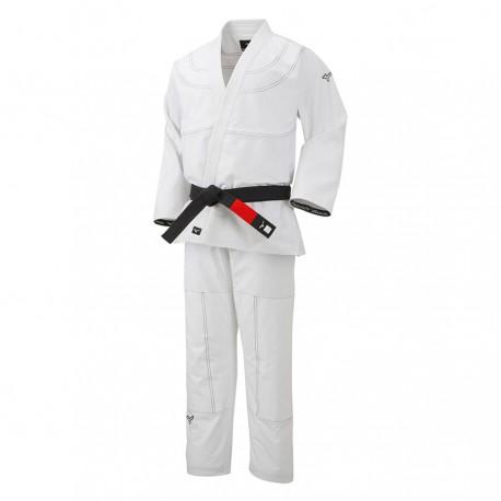 Kimono de Jiu Jitsu Brasileño Mizuno blanco