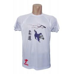 Camiseta técnica Judo Sakura