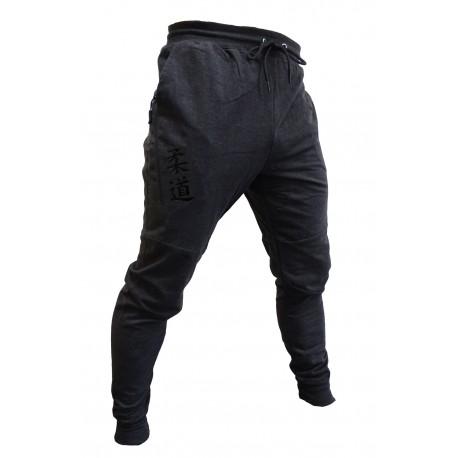 Pantalón felpa Sport gris oscuro