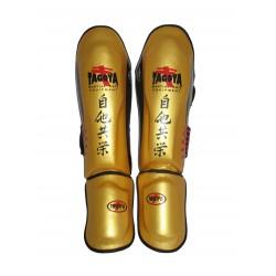 Espinilleras kick boxing Gold