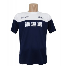 Camiseta Kappa blanca marino Judo