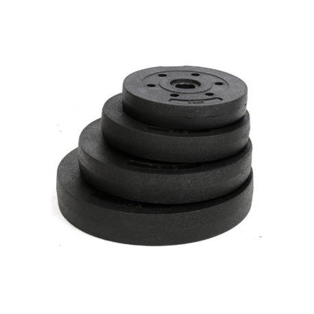 Disco con orificio de 3,1cm para barra