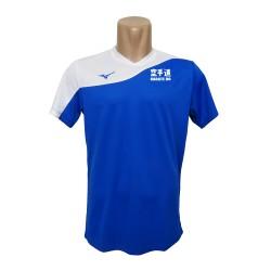 Camiseta Mizuno Myou azul karate