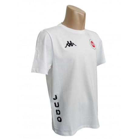 Camiseta blanca Kappa Judo