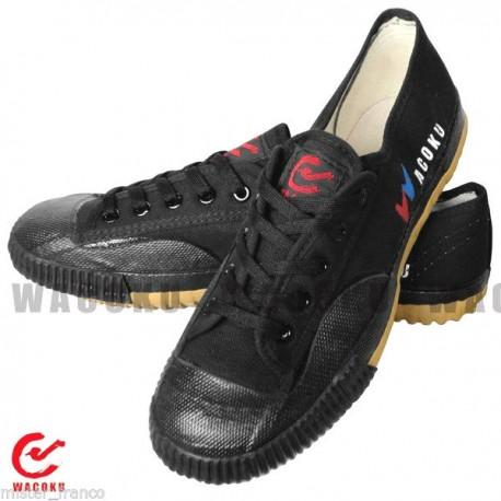 Zapatillas wushu o taichi negras