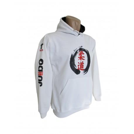 Sudadera Judo Zen blanca
