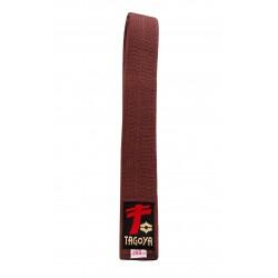 Cinturón marrón de calidad especial.