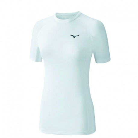 Camiseta blanca Mizuno Bio Gear