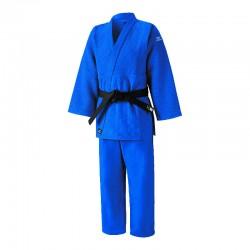 Judogi Mizuno Shiai azul.