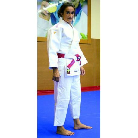 Judogi Supreme Grand Master blanco con bordado directo