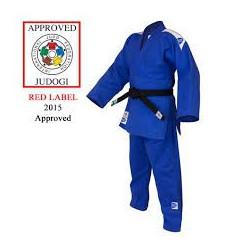 Judogi Greenhill Olympic homologado IJF azul.