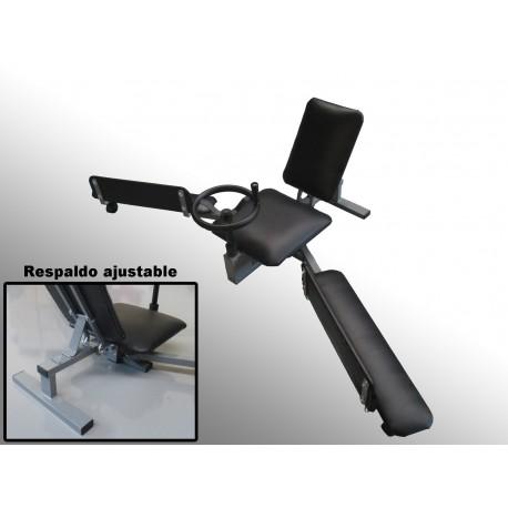 Extensor mecanico para estirar piernas y elasticidad