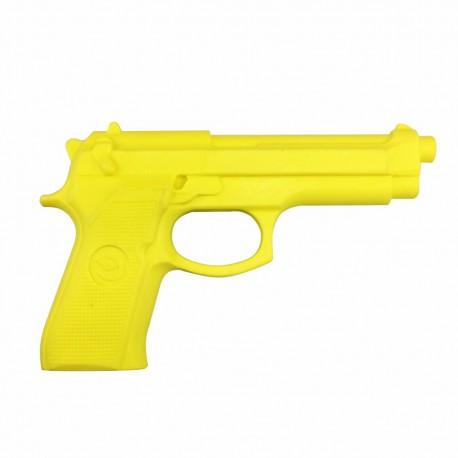 Pistola simulada de goma amarilla termoplástica (TPR)