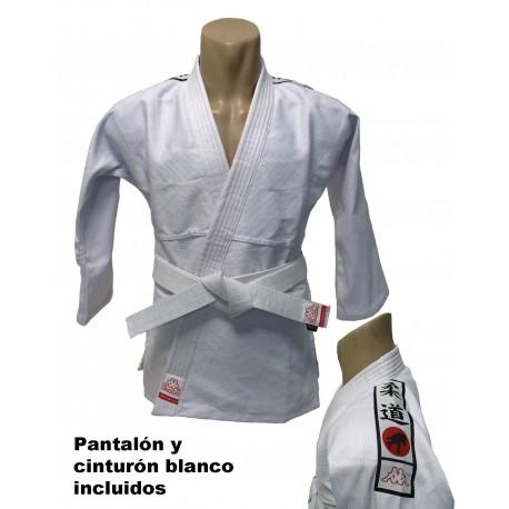 Judogi Kappa blanco para entrenamiento