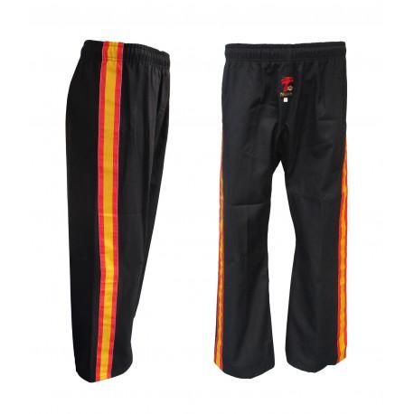 Pantalón de Full Contact con bandera, poliester-algodón.
