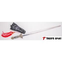 Espada telescópica de alta calidad de acero inoxidable, 92cm.