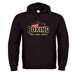 Sudadera boxeo con capucha