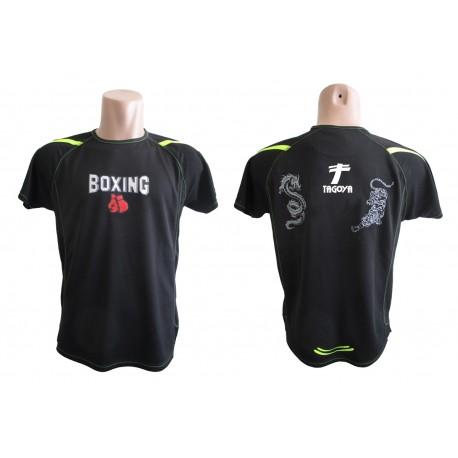 Camiseta Boxeo negra
