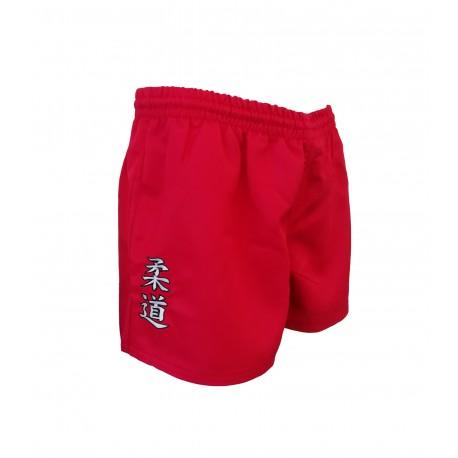 Pantalón rojo corto Kappa Judo